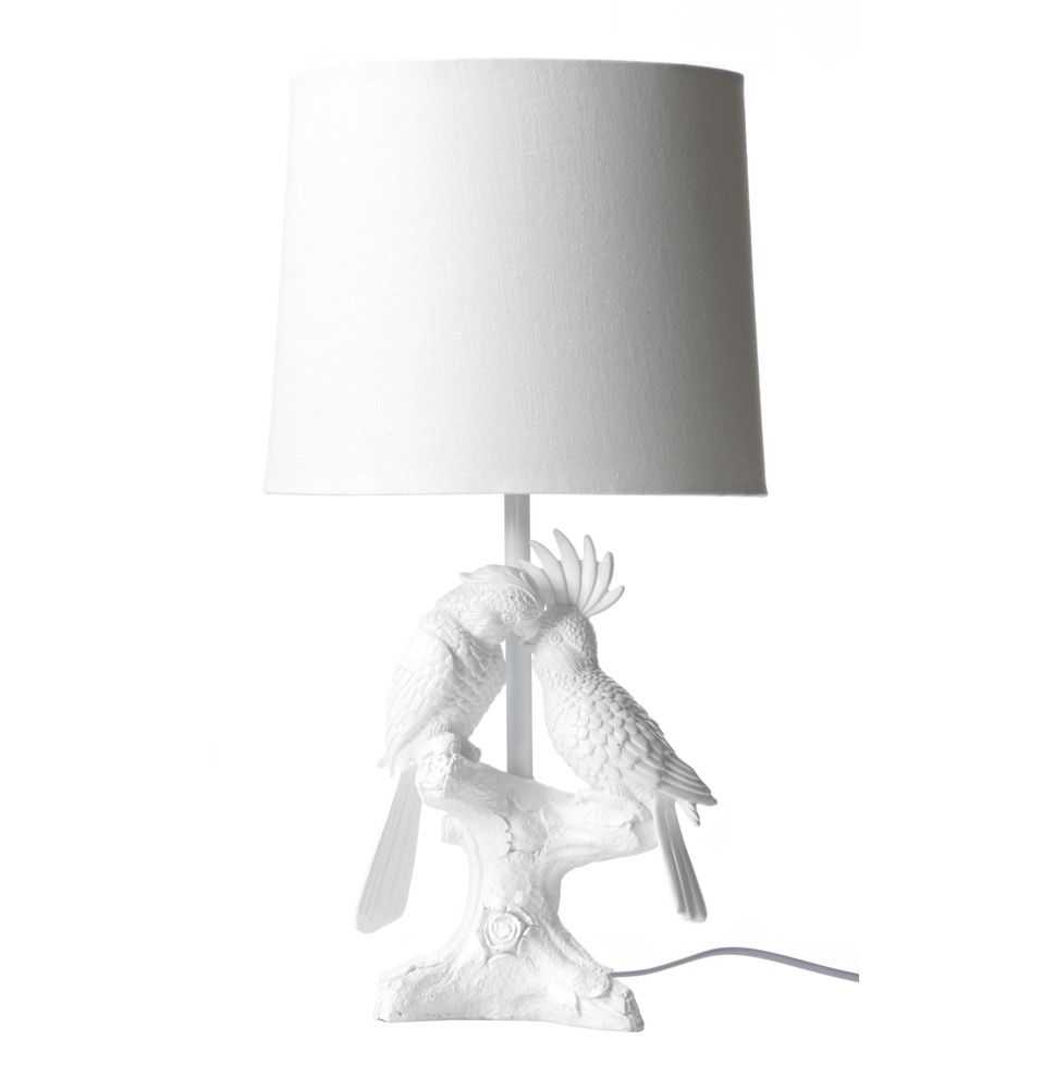 Cockatoo Amp Parrot Table Lamp Matt Blatt Lights Table