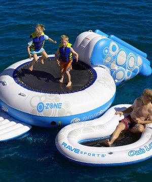 O-Zone XL Bouncer Float & Free Oasis Lounge Float by RAVE Sports #zulily #zulilyfinds
