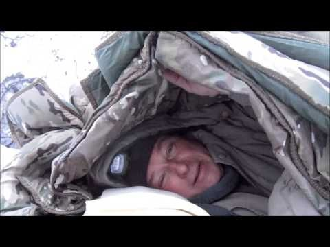 Sub Zero C& with our Blankets No Fire No Tent & Sub Zero Camp with our Blankets No Fire No Tent | Bushcraft / Solo ...