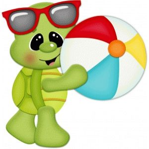 Turtle w beach ball pnc | Cartoon turtle, Cute turtles, Turtle