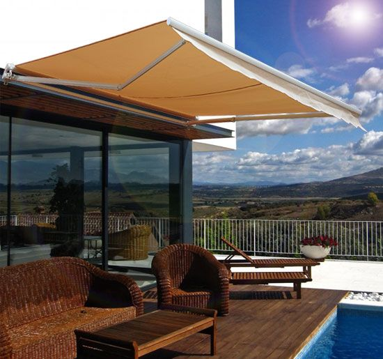 Our Somfy motorized retractable awnings let you safely enjoy your outdoor space with style and fashion. & Pin by Shade u0026 Shutter Systems Inc. on Retractable Awnings ...