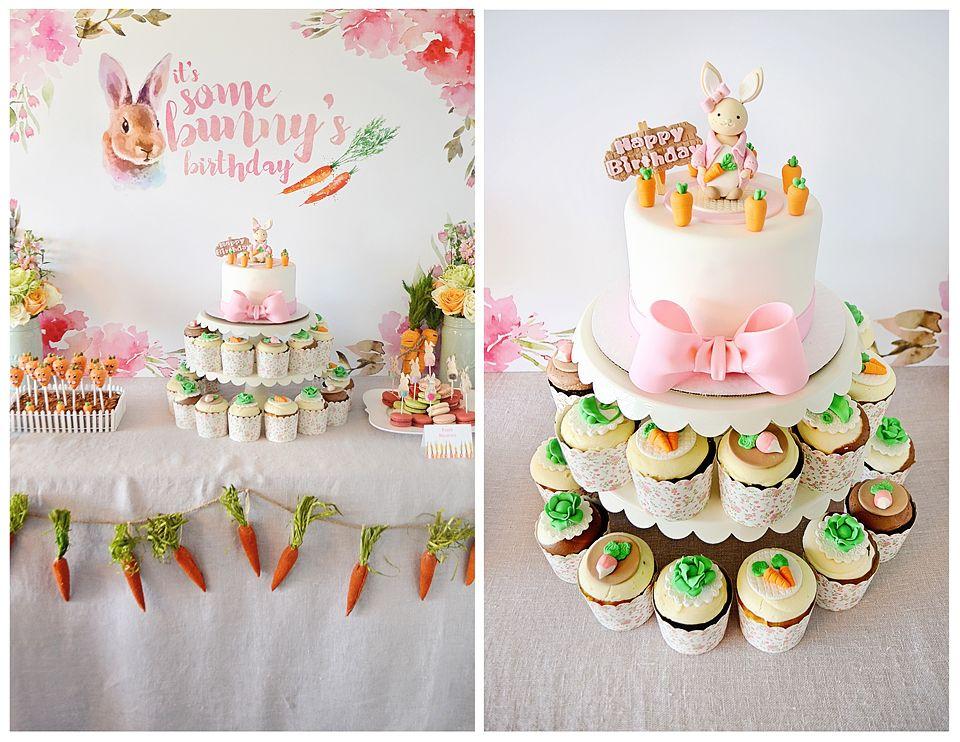 Ariella\u0027s Bunny Themed 4th Birthday Party Pinterest Bunny - birthday party design