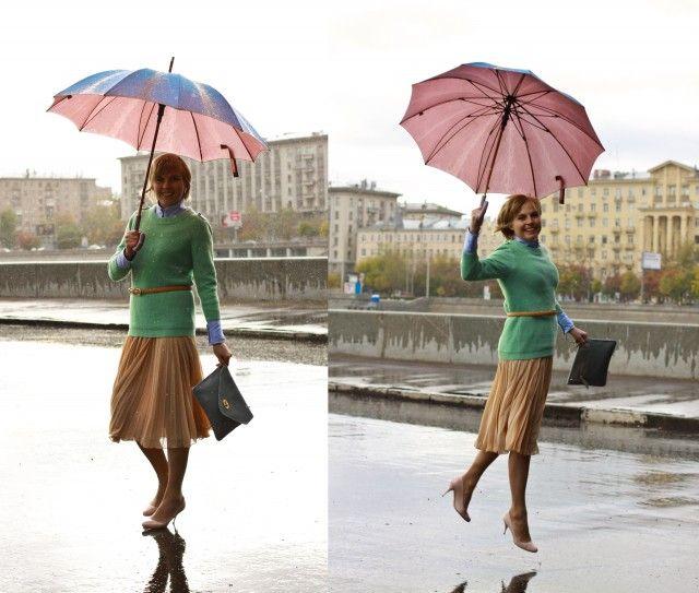 its raining day