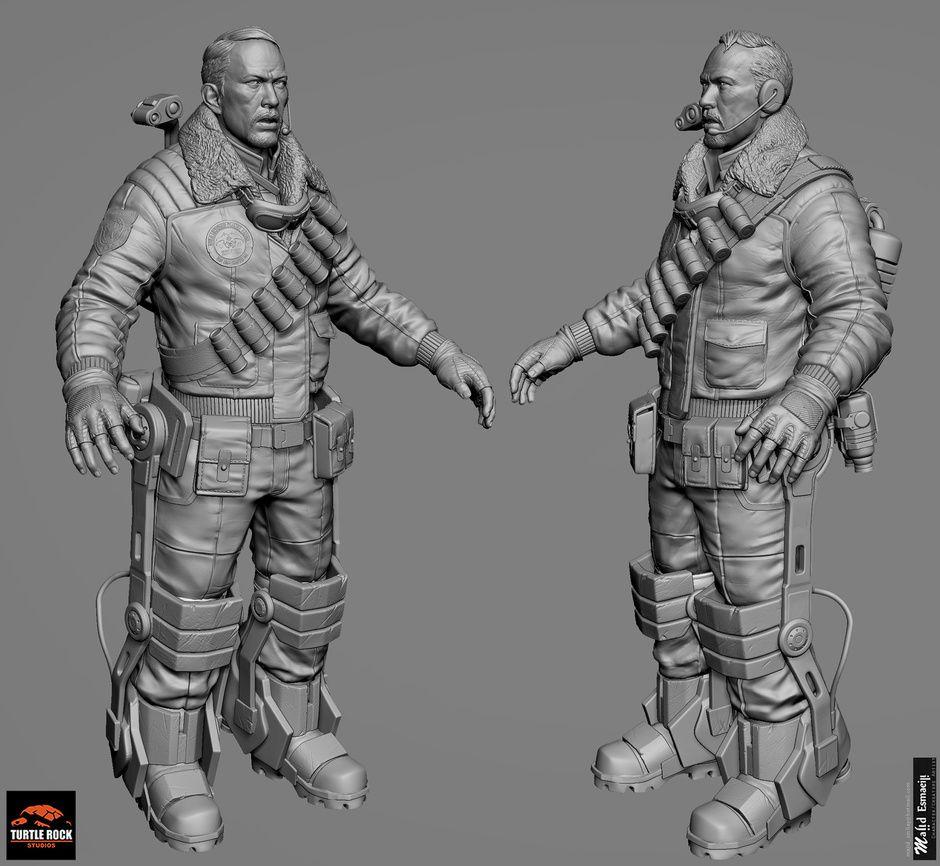 EVOLVE Game characters by Majid Esmaeili   Sci-Fi   3D   CGSociety