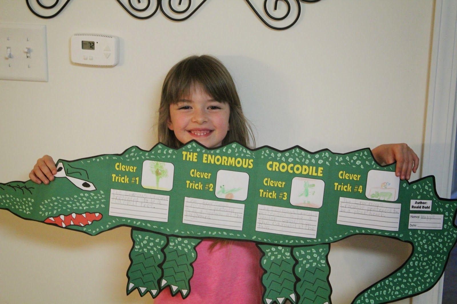 Spark And All Roald Dahl S The Enormous Crocodile Book