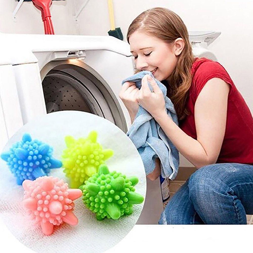 4pcs Set Cleaning Washing Machine Clothes Softener Cleaner Laundry Ball Random Unbranded Washing Ball Laundry Ball Laundry Balls