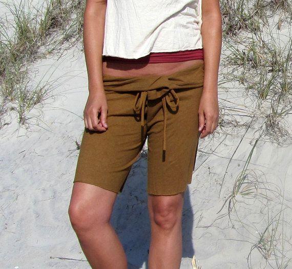 Cocoon 12 Shorts light hemp/organic cotton knit by gaiaconceptions