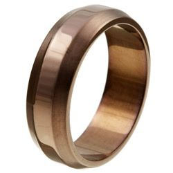 Chocolate Stainless Steel Men S Band 26 99 I Wonder If This Is Enough Color Or Too Much