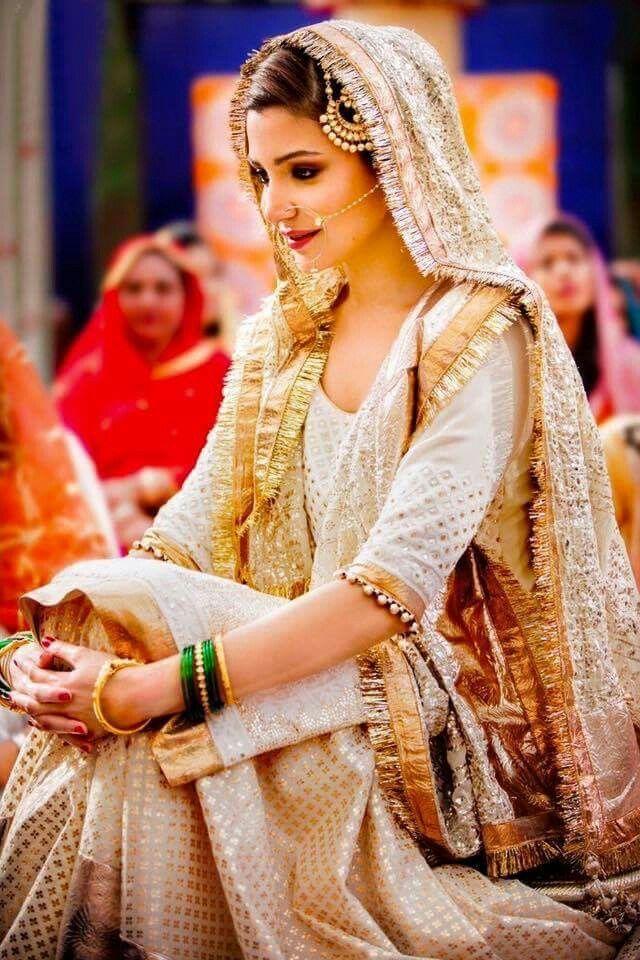 Simple Indian Muslim Wedding Dress