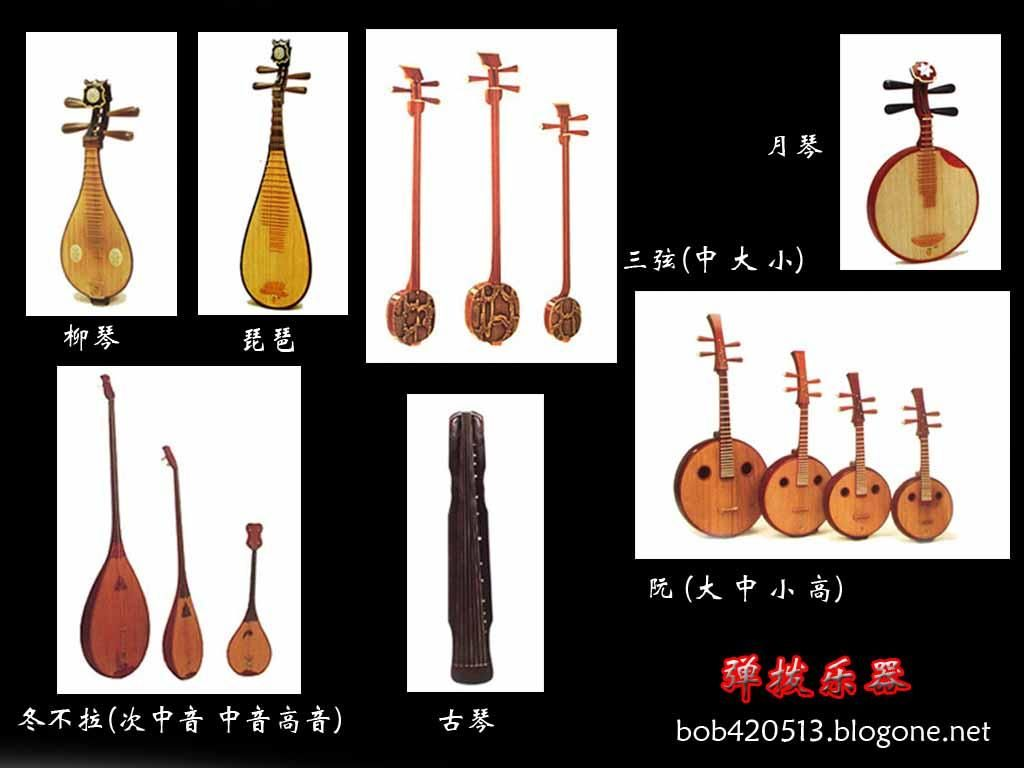 Types Of Chinese Folk Instruments