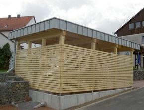 Carport, Niedenstein