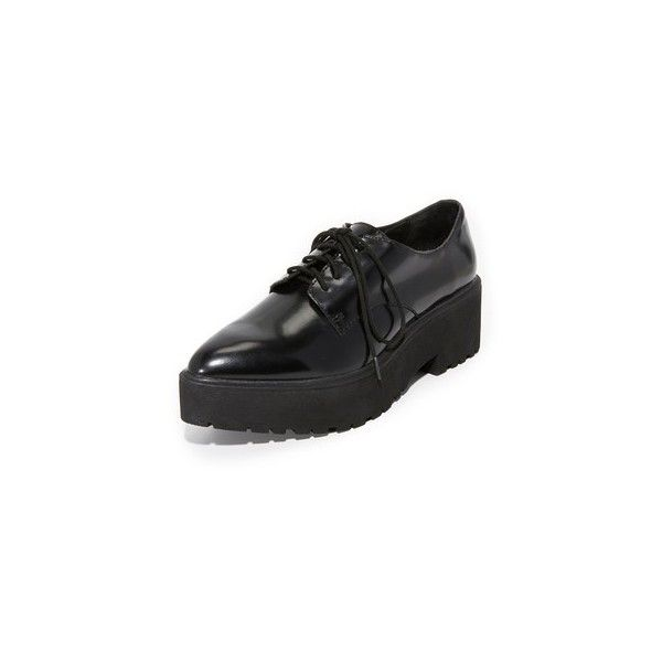 29cb7329706d Jeffrey Campbell Bardem Platform Oxfords ( 145) ❤ liked on Polyvore  featuring shoes