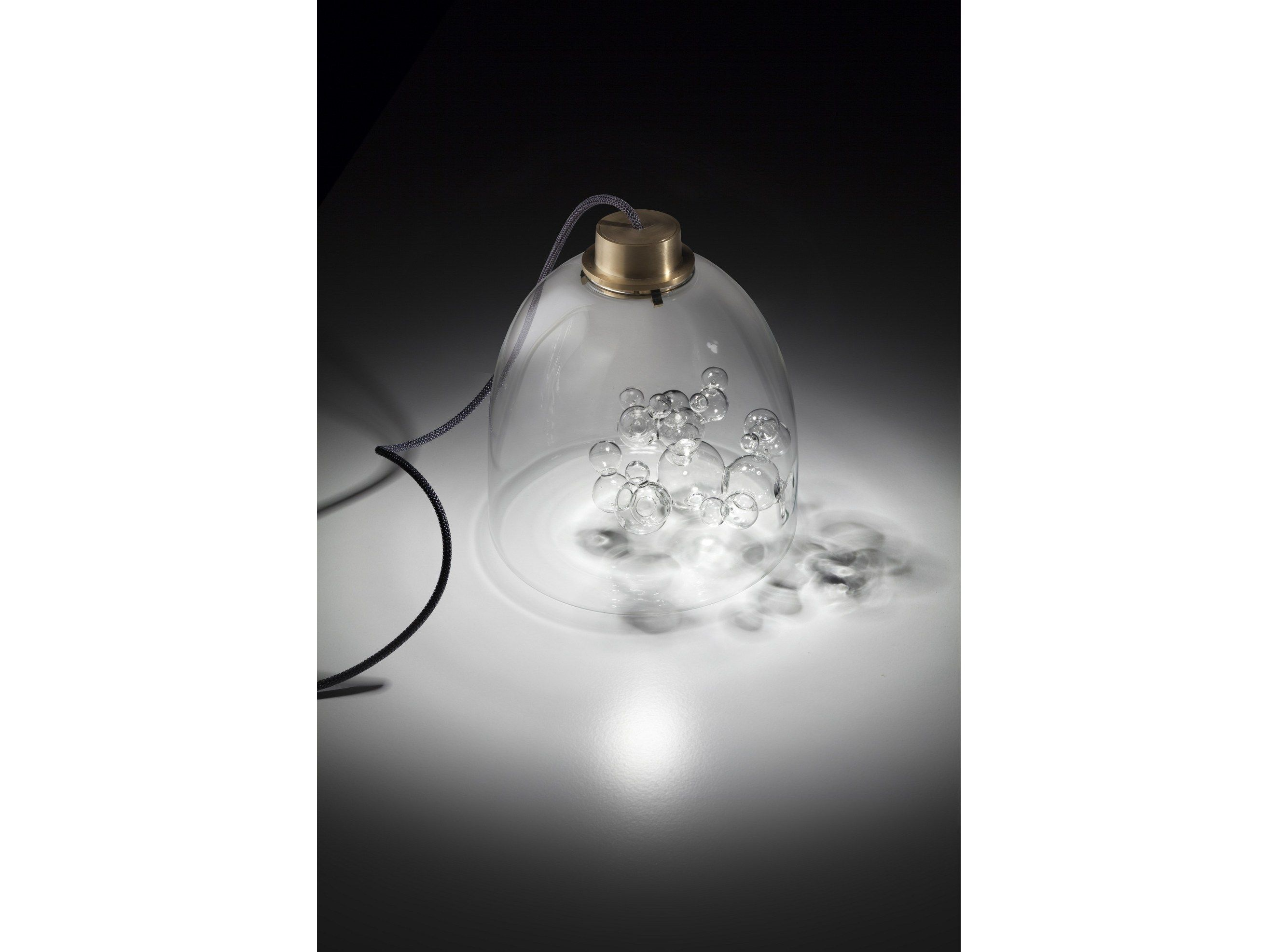 designing lighting. Blown Glass Table Lamp BELL Soap Collection By Melogranoblu Designing Lighting