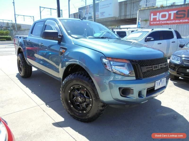 Car For Sale 2012 Ford Ranger Px Xl Hi Rider Blue Automatic A 4d