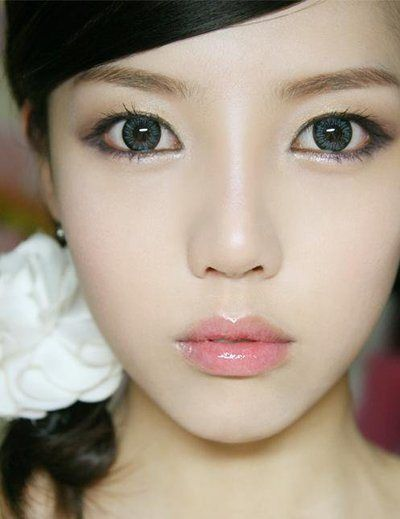 Asian look ontact lenses