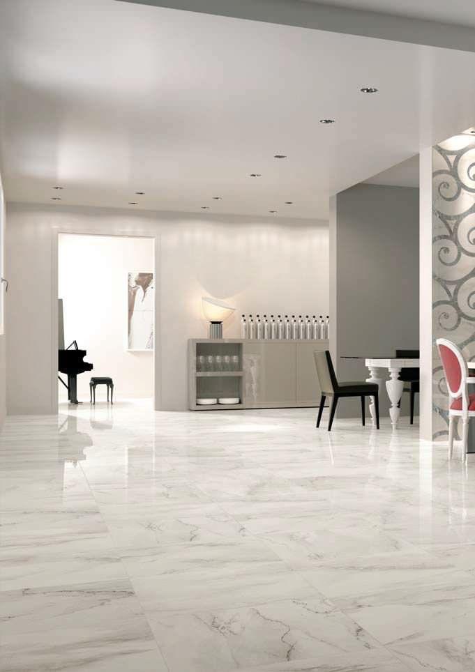 Calacatta Tile Look So Nice House Flooring Modern Wall Tiles Floor Tile Design #wall #tile #design #for #living #room