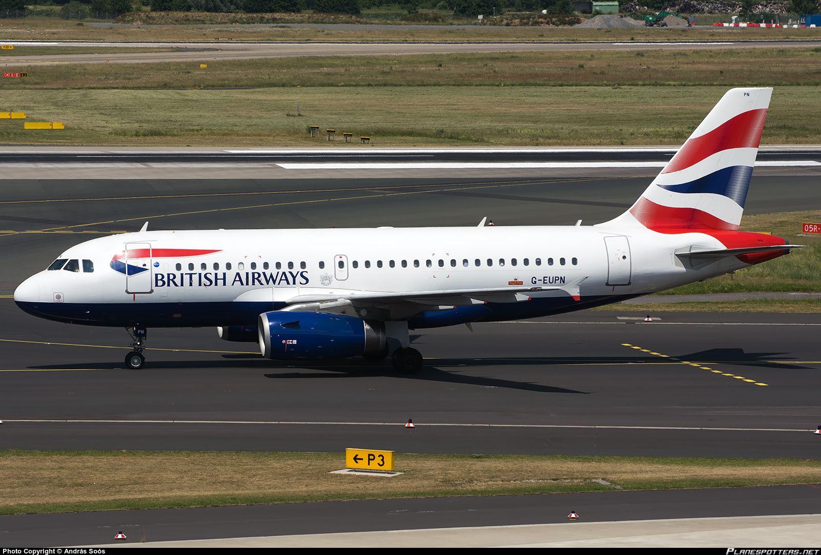 G-EUPN British Airways Airbus A319-131
