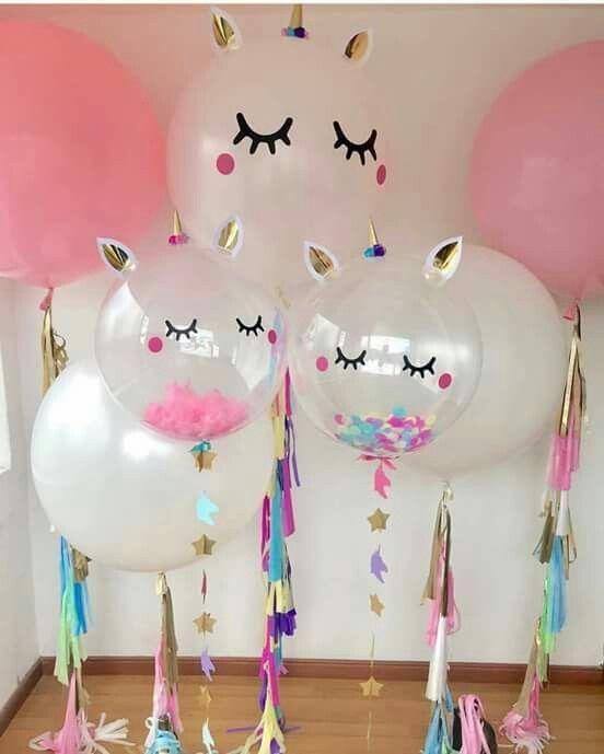Unicorn Balloons Unicorns Unicorn Party Birthday