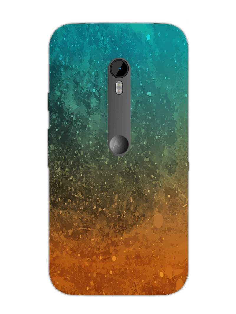 Water Painting Art - Abstract Colourful - Designer Mobile Phone Case Cover for Moto X3
