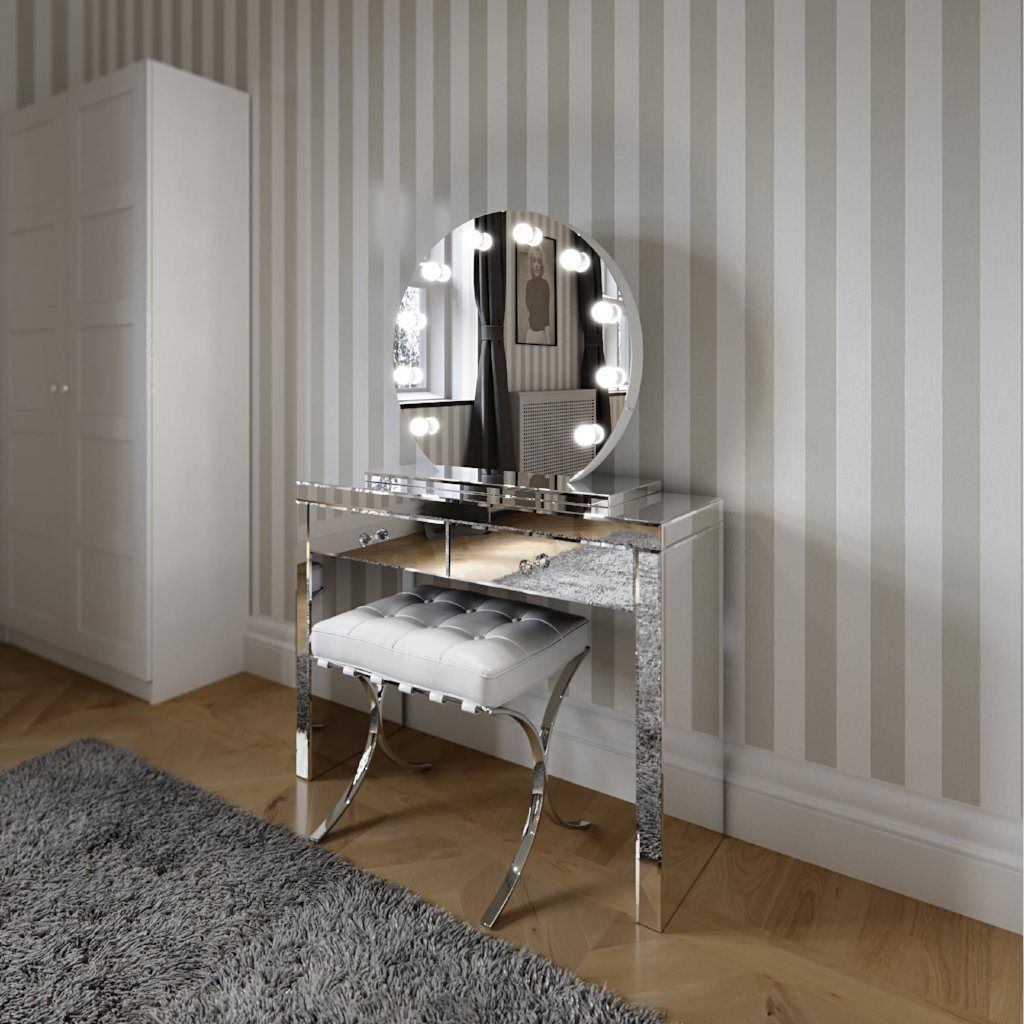 Round Hollywood Mirror Makeup Mirror With Lights Dressing Table Mirror With Lights Va Diy Vanity Mirror Makeup Vanity Mirror With Lights Hollywood Mirror