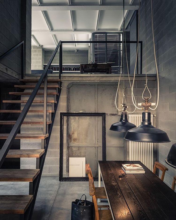 Ver Esta Foto Do Instagram De Myhouseidea O 126 Mil Curtidas Industrial KitchensIndustrial LampsIndustrial DesignLoft