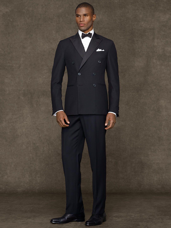 Custom Double-Breasted Tuxedo - Suits Men - RalphLauren.com  8dcd0c21faf