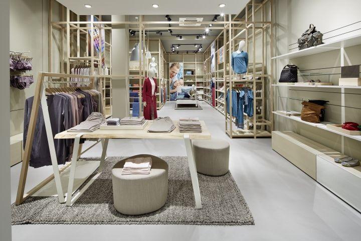 Hessnatur Store By Blocher Blocher Shop Frankfurt Germany