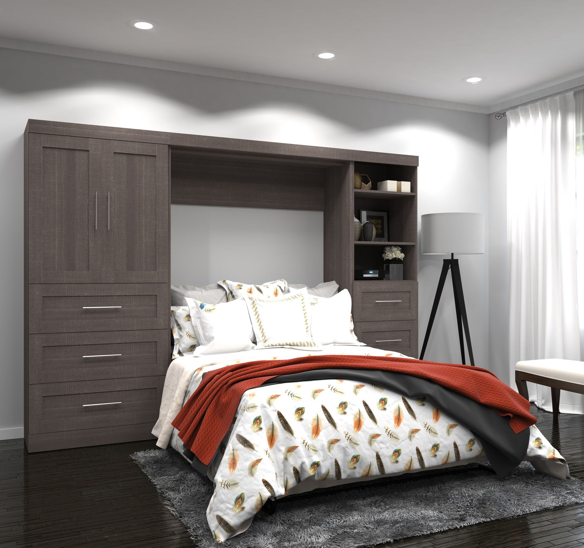 Walley Full/Double Murphy Bed Wall bed, Murphy wall beds