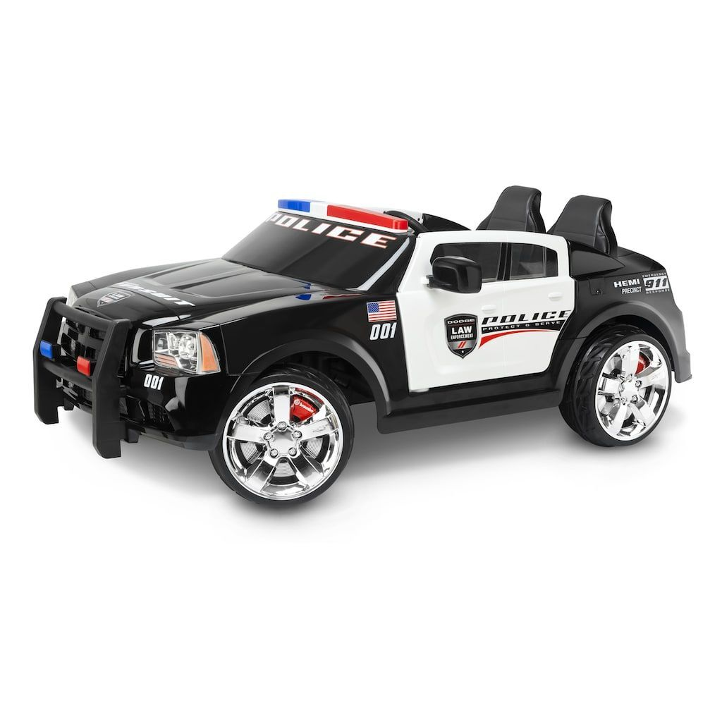 Hummer car toys  Dodge Charger Police Car Pursuit RideOn  Products  Pinterest