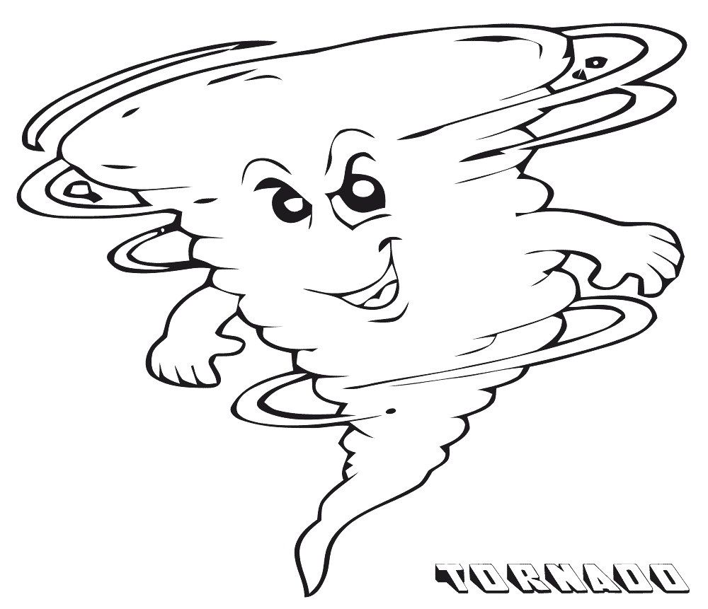 Tornado Coloring Pages Printable Shelter In 2020 Coloring Pages Fruit Coloring Pages Free Coloring Pages