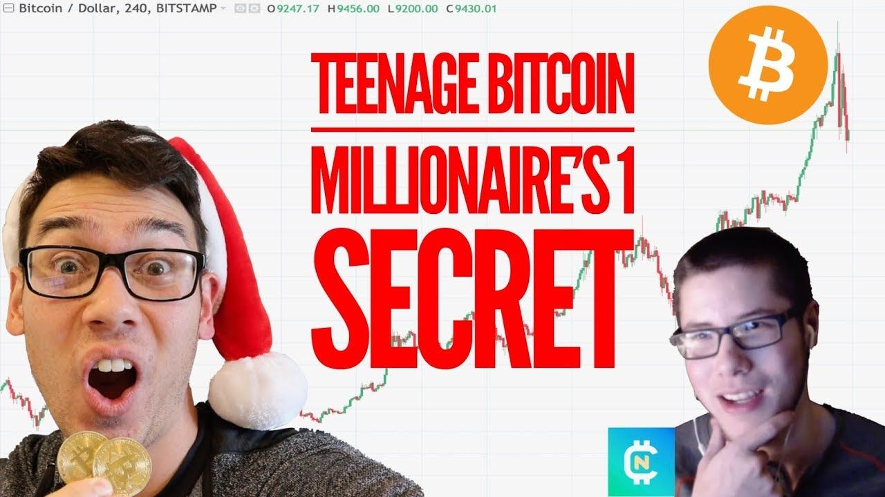 teenage bitcoin millionaire shares secret to investing best broker to trade forex and crypto