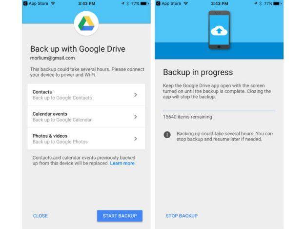 Quer mudar do iPhone para o Android em 2017? A Google oferece um - google drive resume