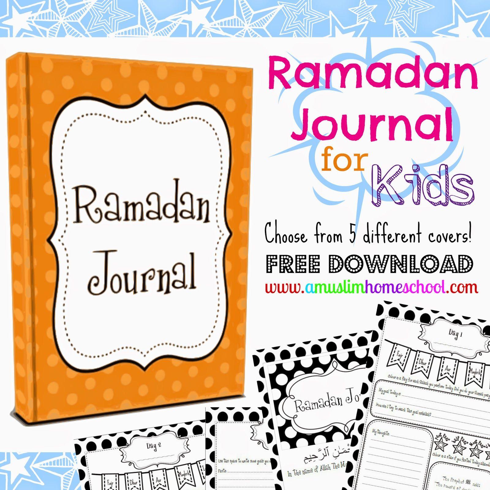 Kids Ramadan Journal Download Ramadan