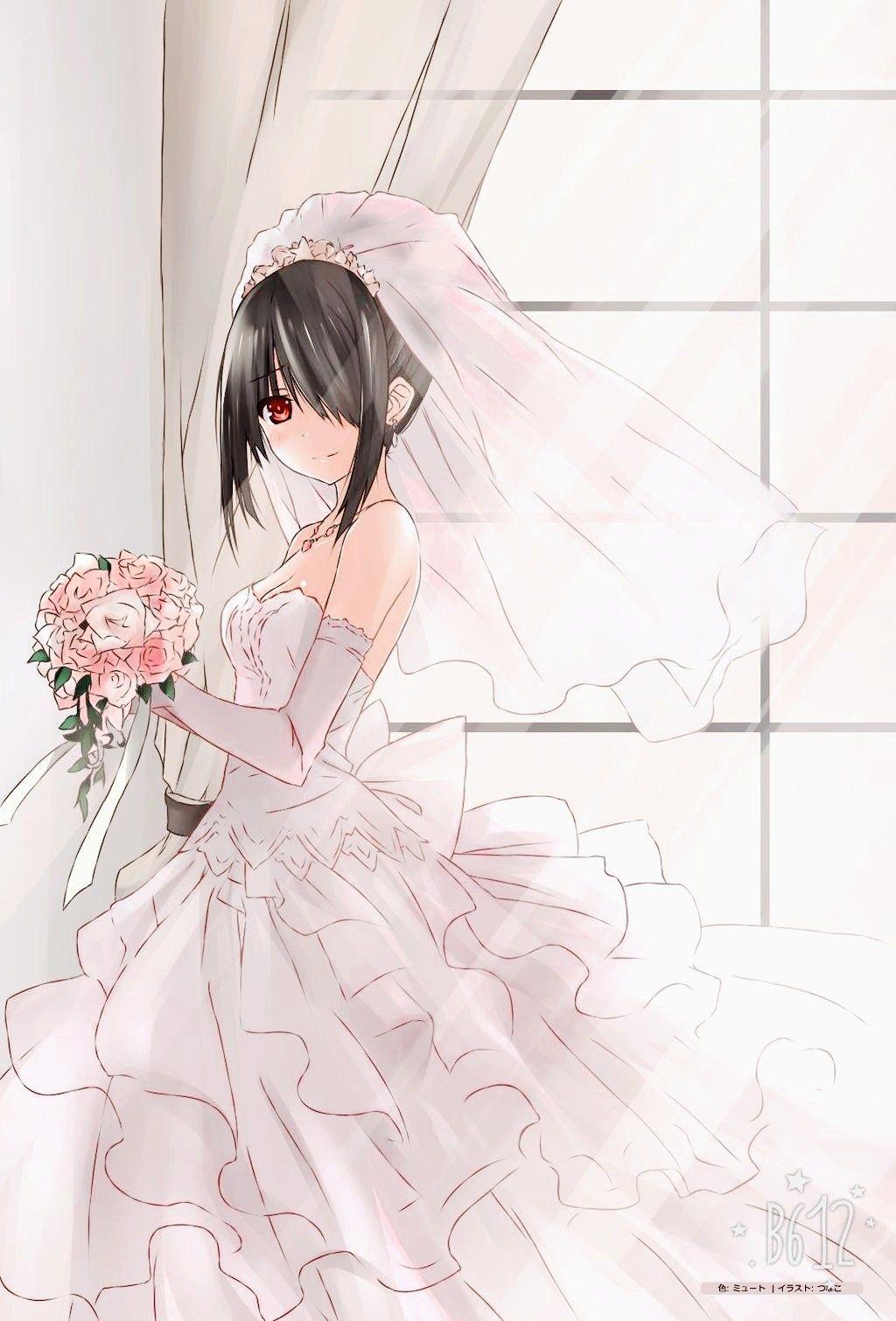 30++ Kurumi tokisaki wedding dress information