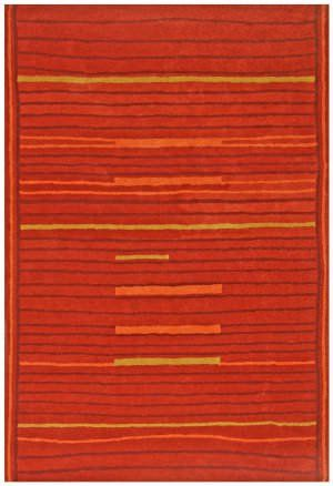 St. Croix Structure Lineage Ct114 Rust Area Rug