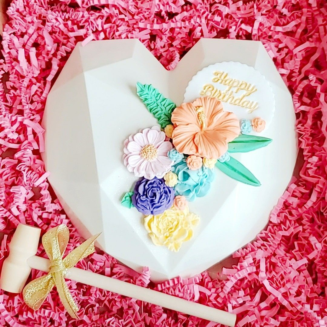 how to make a heart cake without a heart pan