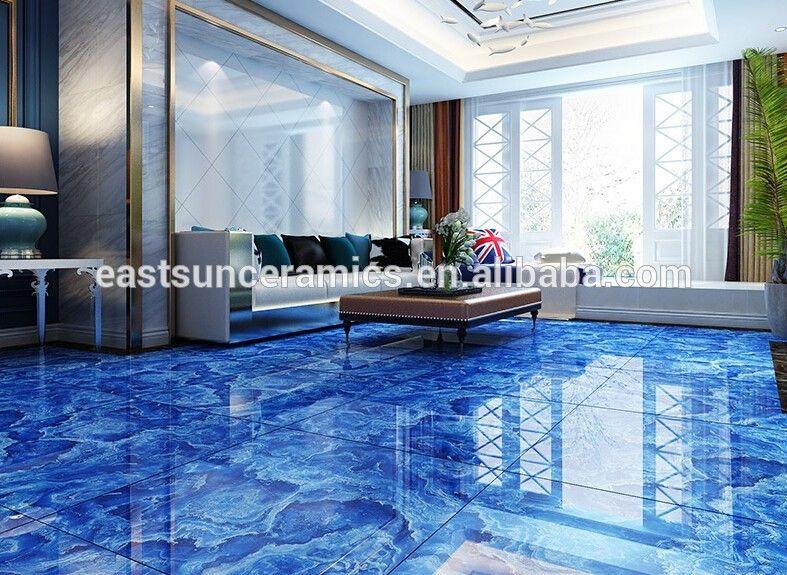 Image result for cobalt blue interior ceramic floor tiles