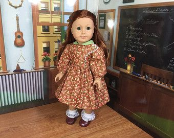 1860s Day Dress for 18 inch Doll Little Women by kgabor19 on Etsy