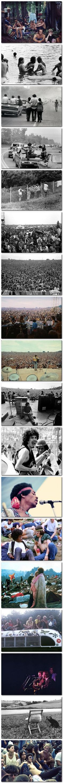 Woodstock 1969; Bob and Larry went