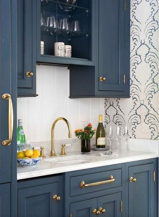 45 inspiring blue and white kitchen ideas to love in 2020