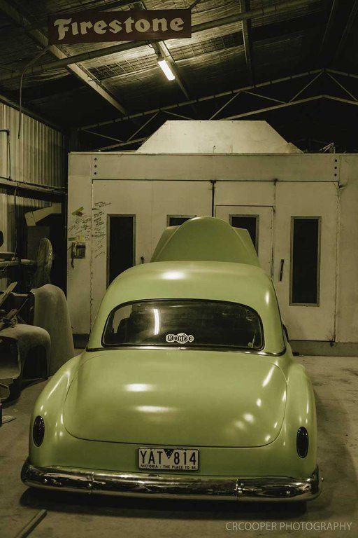 Morgan Sgro - 1951 chevy sedan