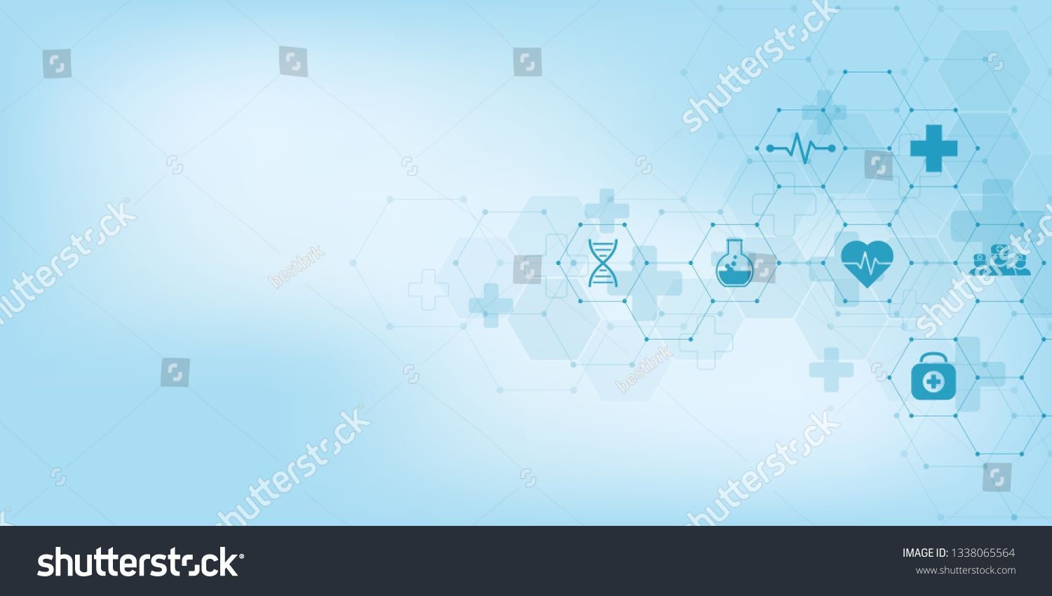 Abstract Medical Background With Flat Icons And Symbols Concepts And Ideas For Healthcare Technolog Medical Background Healthcare Technology Research Abstract