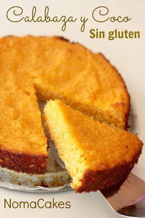 tarta calabaza coco sin gluten