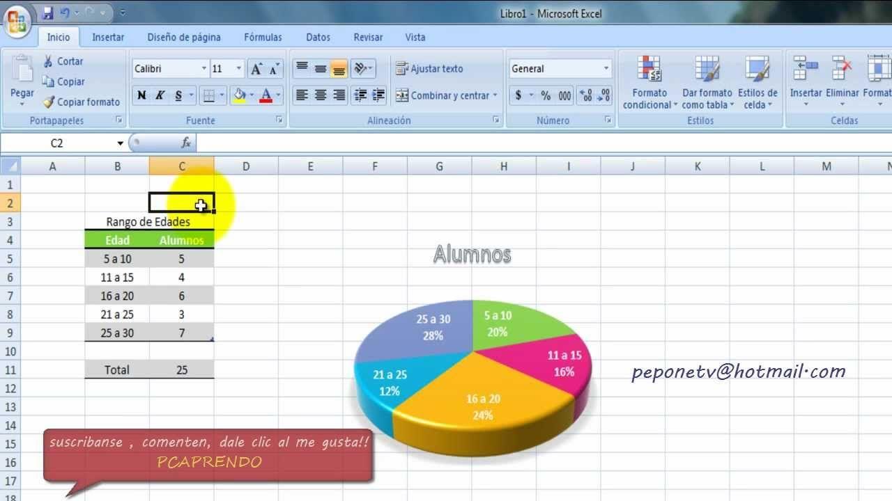 Excel Basico Graficas 3d Pastel Bueno En Este Tutorial Podran Aprender A Insertar Y Darle Hojas De Cálculo Cuaderno Del Profesor Administracion De Negocios