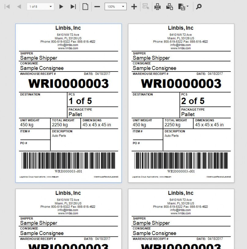 Browse Our Sample Of Warehouse Receipt Template Receipt Template Business Proposal Templates
