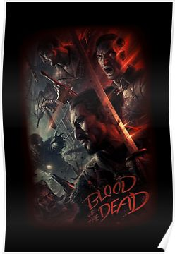 Cod Bo4 Zombies Blood Of The Dead Poster Loading Screen
