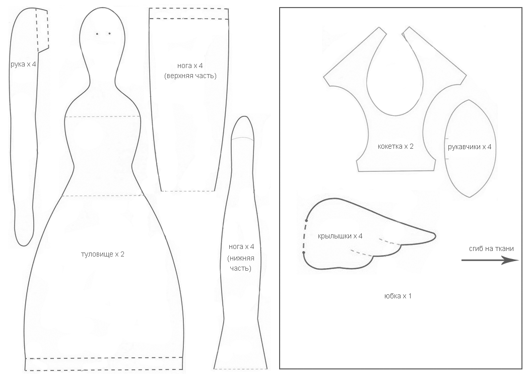 сантиметры кукла тильда картинки с выкройками чтобы помещение