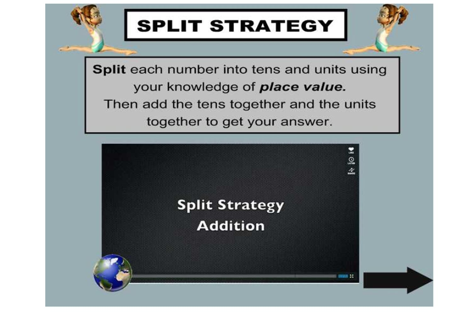 Pin On Mathematics What is split strategy in addition