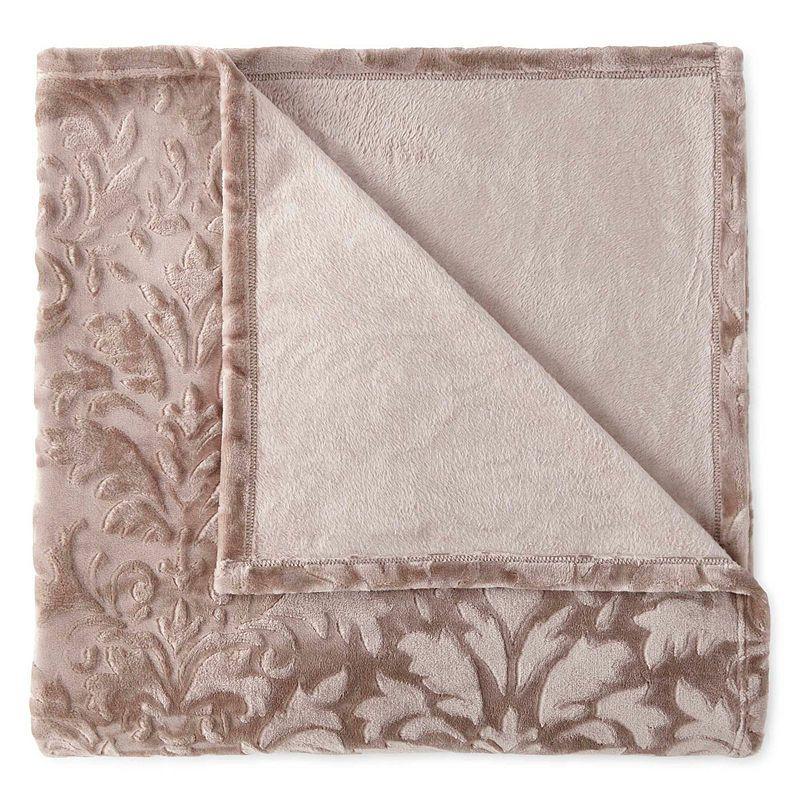 Royal Velvet Ultimate Plush Blanket Lightweight Bedding Velvet