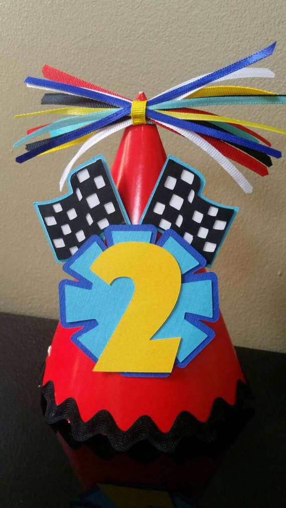 Check out this item in my Etsy shop https://www.etsy.com/listing/499041808/mickey-the-roadster-racers-birthday-hat